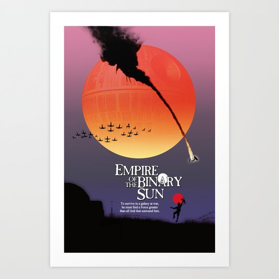 Empire of the Binary Sun Art Print