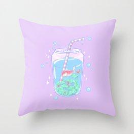 Koi Fish Can Throw Pillow
