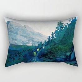 Heritage Art Series - Jade Rectangular Pillow