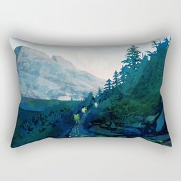 Heritage Art Series - Jade Rectangular Pillow