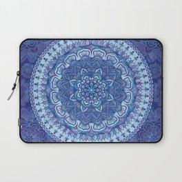 Blue Purple Mandala Laptop Sleeve
