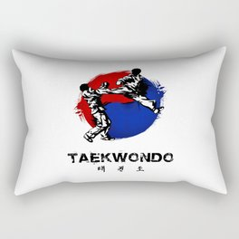 Taekwondo Rectangular Pillow