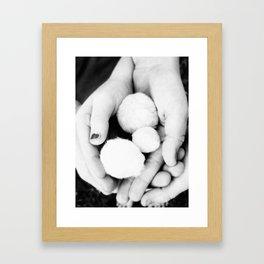 Warm Fuzzy's 2 Framed Art Print