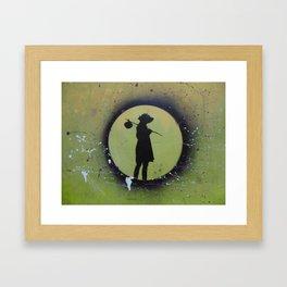me voy Framed Art Print