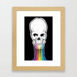 Skulls Are Still Cool Framed Art Print