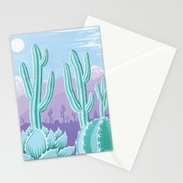 The Cool Desert Stationery Cards