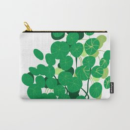 pilea on white background Carry-All Pouch