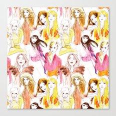 Warm Summer Nights Canvas Print
