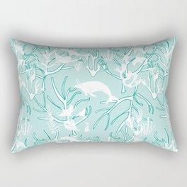 Nautical Toile de Jouy Rectangular Pillow