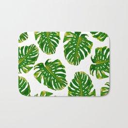 Guatemala - Monstera Deliciosa Jungle Bath Mat