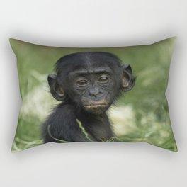 Baby Bonobo Rectangular Pillow