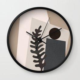Shapes Abstract Wall Clock