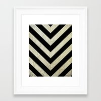 decal Framed Art Prints featuring Bold by Charlene McCoy