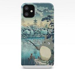 Japanese woodblock mashup iPhone Case