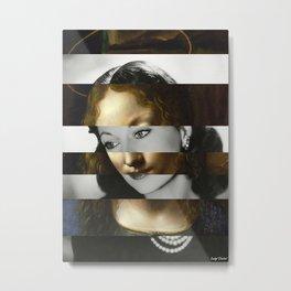 Leonardo Da Vinci's Madonna from The Virgin of the Rocks & Vivien Leigh Metal Print