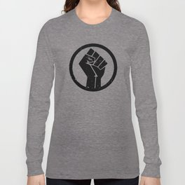 BLACK LIVES MATTER - FIST Long Sleeve T-shirt