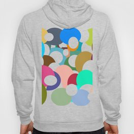 Holes in colored circles Hoody