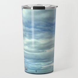 A Rig Passing (Digital Art) Travel Mug