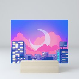 Dreamy Moon Nights Mini Art Print