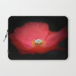 Red flower India Laptop Sleeve