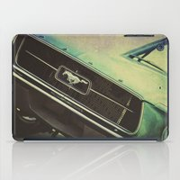 mustang iPad Cases featuring Galaxy Mustang by Honey Malek