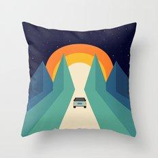 Wonderful Trip Throw Pillow