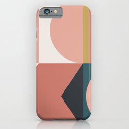 Maximalist Geometric 02 iPhone Case