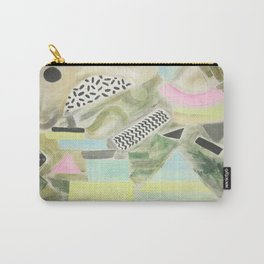 Pastel Garden Geo Milano Carry-All Pouch