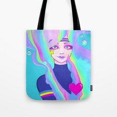 Turbo Girl Tote Bag