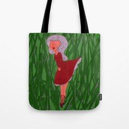 Mushroom Girls: Red Tote Bag