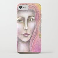 olivia joy iPhone & iPod Cases featuring Olivia by Art by Sandy & Mariah Gonyea