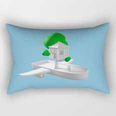 Tree House Boat Rectangular Pillow