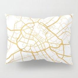 MANCHESTER ENGLAND CITY STREET MAP ART Pillow Sham
