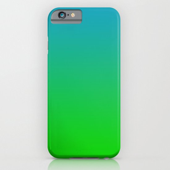 Ombre - Tropical iPhone & iPod Case