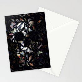 Butterfly And Skull Stationery Cards