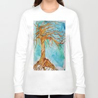 tree of life Long Sleeve T-shirts featuring Tree of Life by AriesArtNW.com