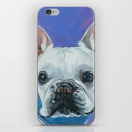 French Bulldog Portrait Painting iPhone Skin