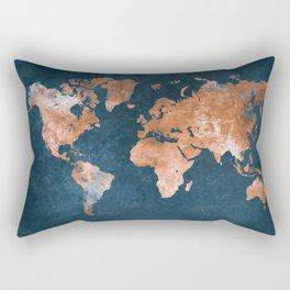 world map 15 Rectangular Pillow