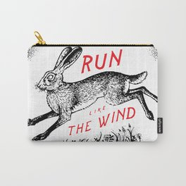 Run Like The Wind Carry-All Pouch