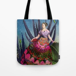 Blue Agave and Cacao Tote Bag