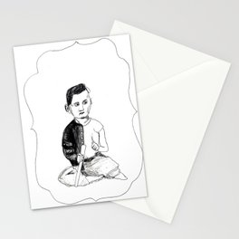 Portrait of a Victorian Baby Stationery Cards