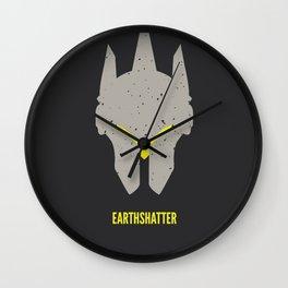 Earthshatter Wall Clock