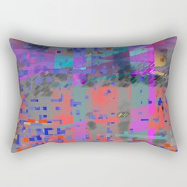 ancient digital Rectangular Pillow