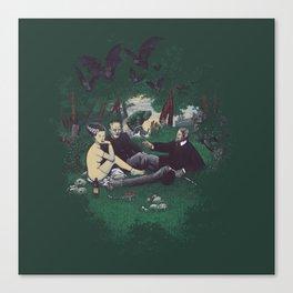 Le Déjeuner sur l'herbe (universal monster) Canvas Print