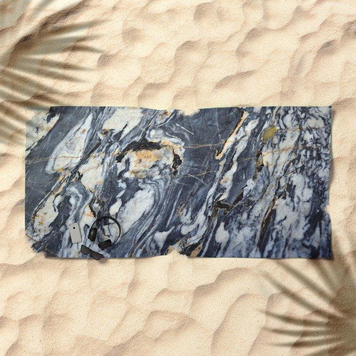 Marble Rock Beach Towel