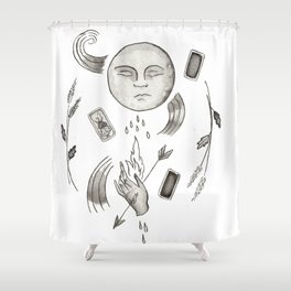 Bad Magic Shower Curtain