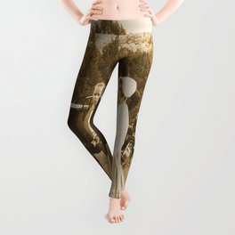Strolling on the Battlefield Leggings