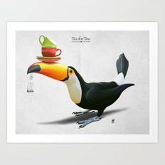 Tea for Tou Art Print
