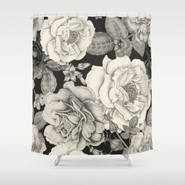 NATURE IN SEPIA Shower Curtain