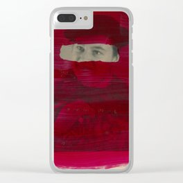 Today, I am a stronger man 3 Clear iPhone Case